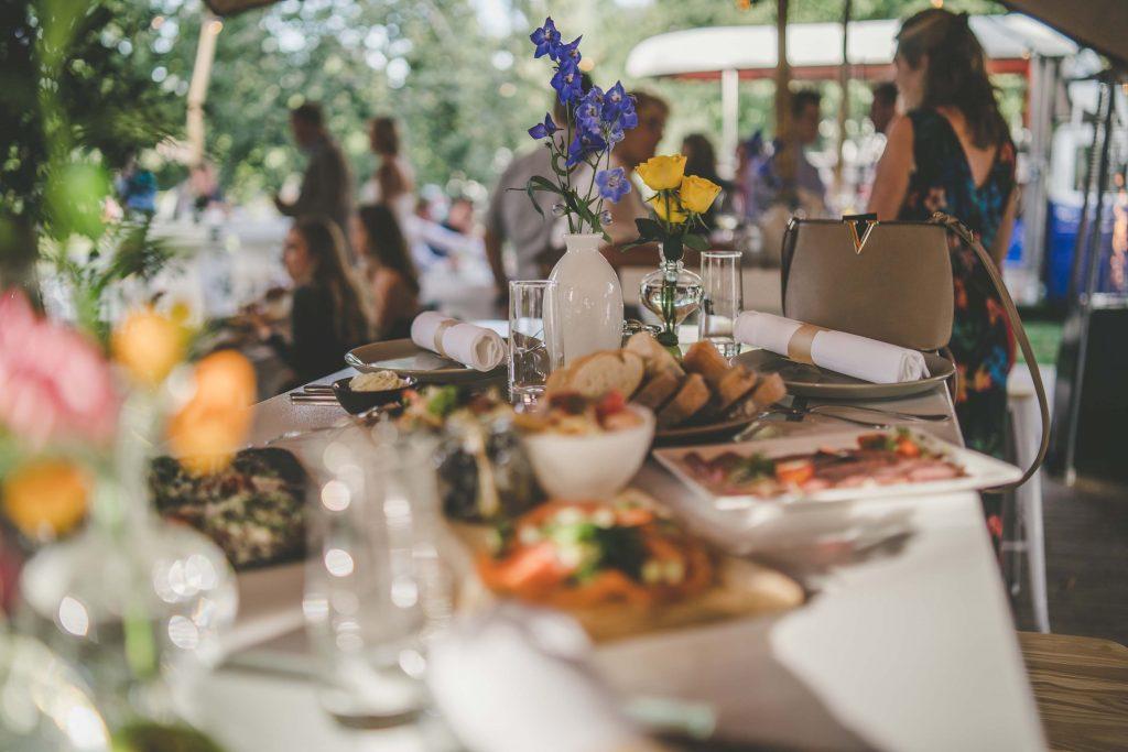 Heerlijke catering op evenementenlocatie De Bollen