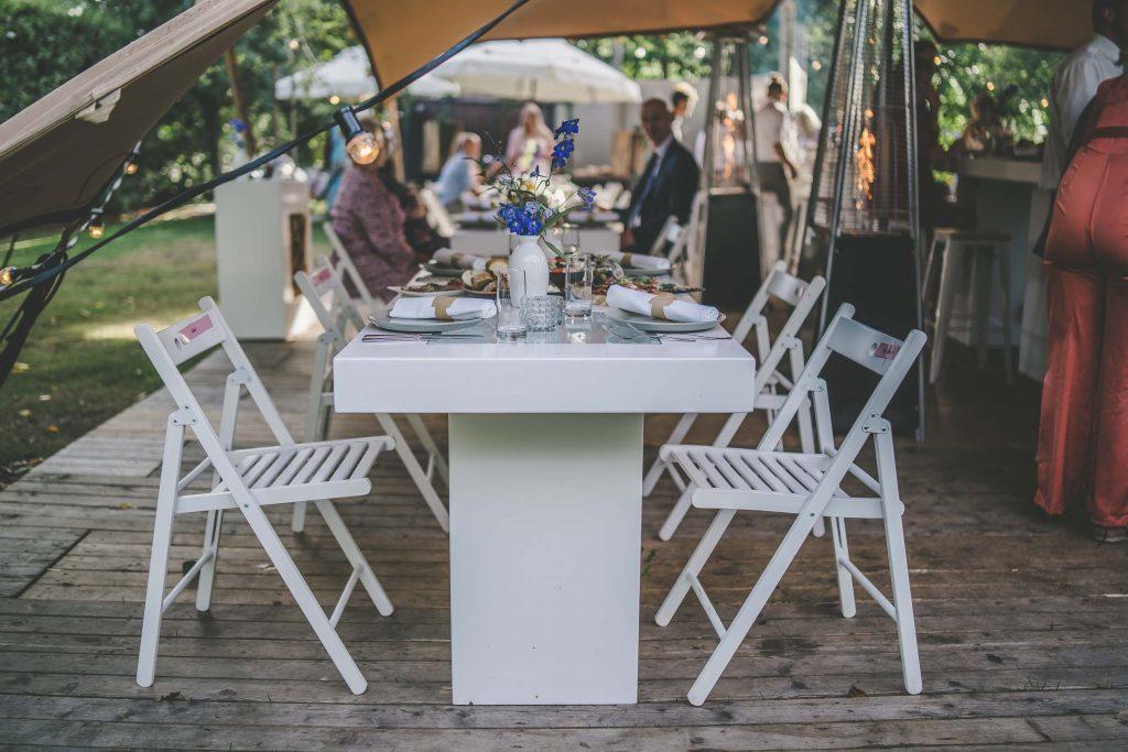Sfeervol tafelen op evenementenlocatie De Bollen