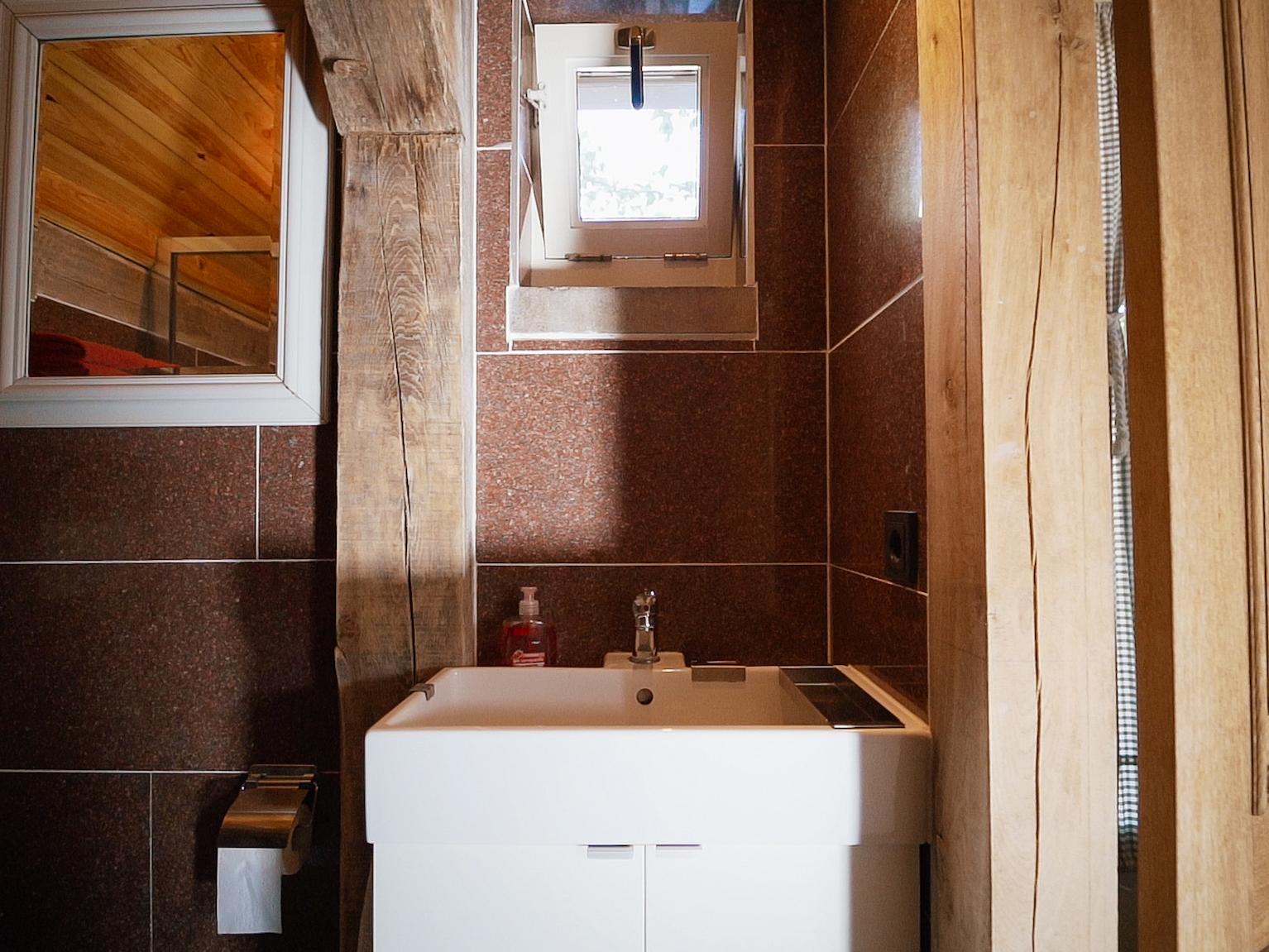 Interieur van tiny house De Rooij Ackers