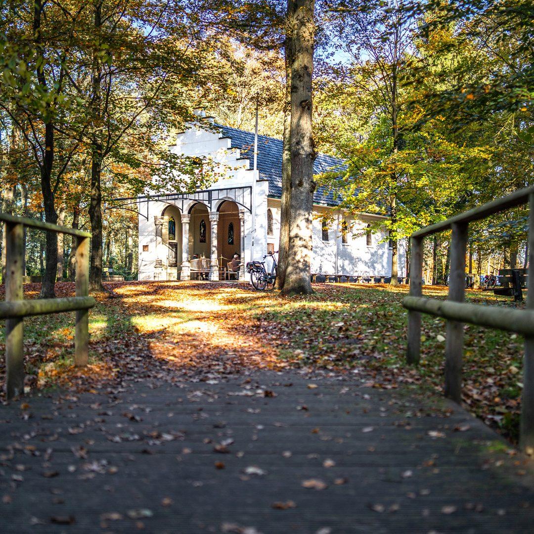 Het landhuis op Langoed Heerenbeek